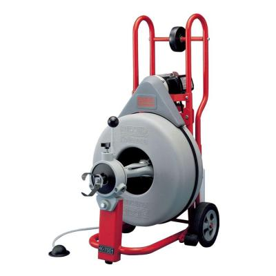RIDGID K-750 Drain-Cleaning Machine with C-75 Cable