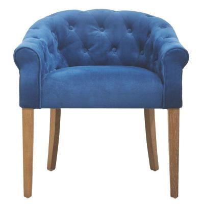 Valeria Fabric Dining Chair in Bella Navy Product Photo