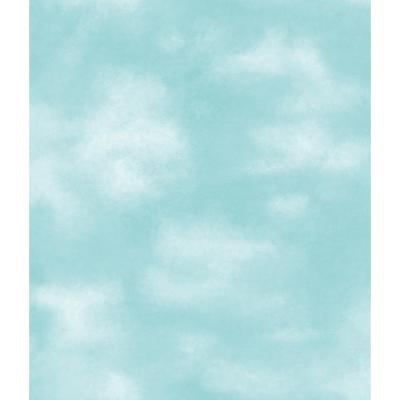 York Wallcoverings 56 sq. ft. Kids Clouds Wallpaper