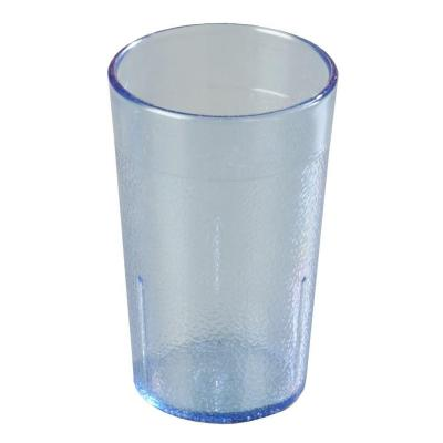 5 oz. SAN Plastic Stackable Tumbler in Blue (Case of 72)