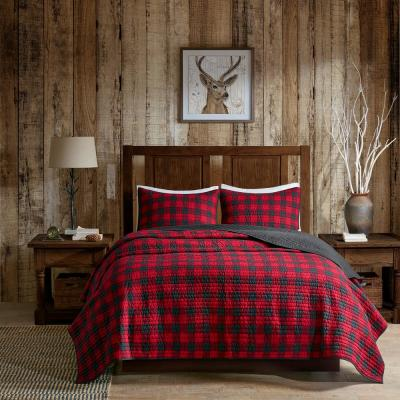 WR Woolrich Check Quilt Mini Set