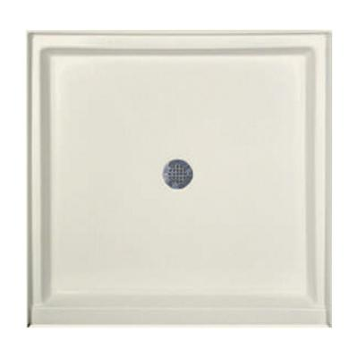42 in. x 42 in. Single Threshold Shower Base in Biscuit Product Photo