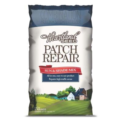 null 5 lb. Sun and Shade Grass Patch Mix