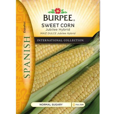 International Collection Spanish Vegetable Corn Jubilee Hybrid Seed