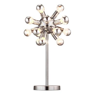 ZUO Pulsar 22.5 in. Chrome Table Lamp