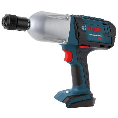 Bosch 18-Volt Lithium-Ion High Torque Impact Wrench with 7/16 in. Quick Change Bare Tool (Tool-Only)