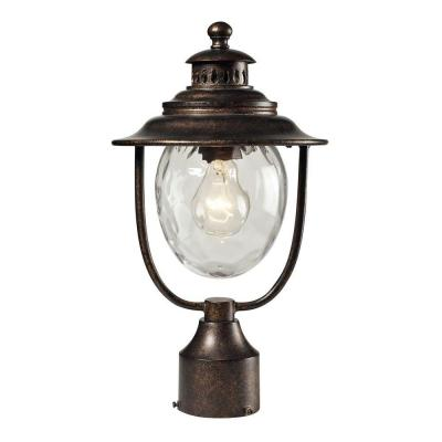 Searsport 1-Light Outdoor Regal Bronze Post Light Product Photo