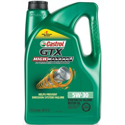 Castrol Gtx 160 Fl Oz Hm 5w30 Motor Oil 03102c The