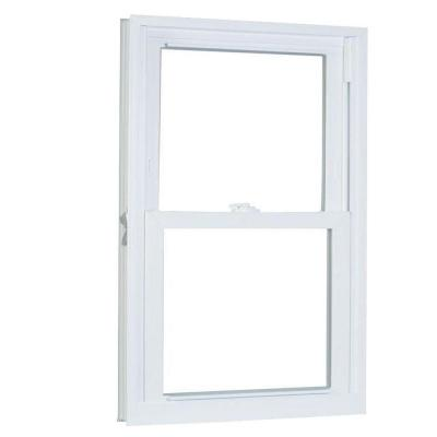 31.75 in. x 45.25 in. 70 Series Double Hung Buck PRO Vinyl Window - White Product Photo