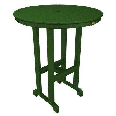 Monterey Bay Rainforest Canopy 36 in. Round Patio Bar Table