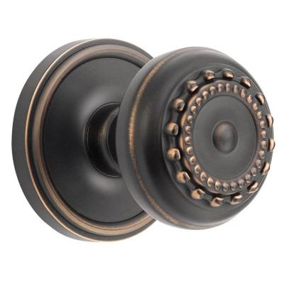 Georgetown Rosette Timeless Bronze with Double Dummy Parthenon Knob