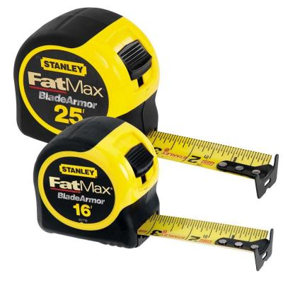 Stanley FatMax 25 ft. and 16 ft. Tape Measures