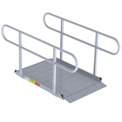 EZ-ACCESS 4 ft. Modular Ramp with Handrails