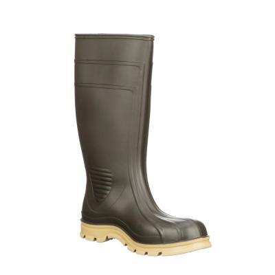 Brown Barnyard Rubber Boot