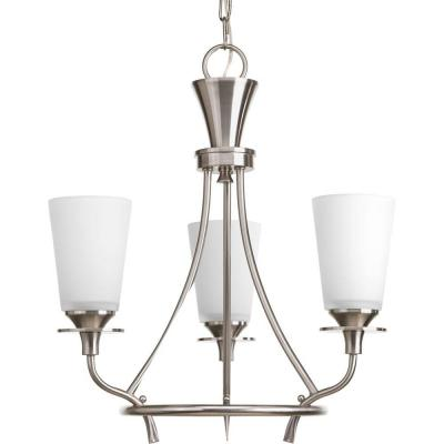 Progress Lighting Cantata Collection 3 Light Brushed