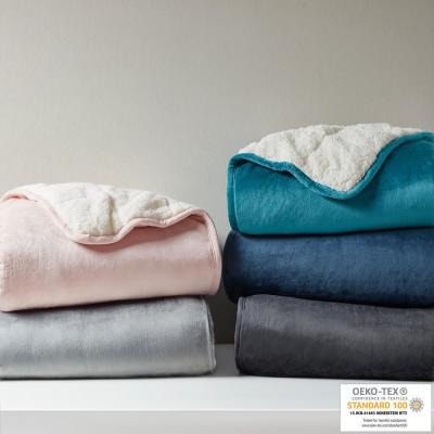 Velvet to Berber Weighted Blanket