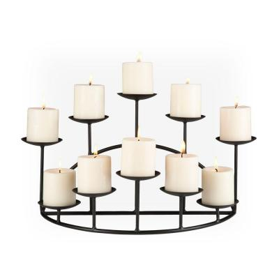 Southern Enterprises 21.25 in. Candle Candelabra Free Standing