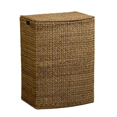 Home Decorators Collection Banana Leaf Brown Laundry Hamper-DISCONTINUED