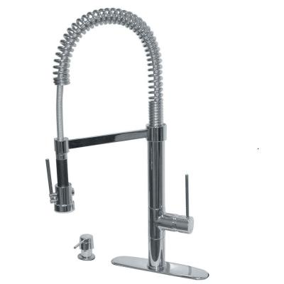 pegasus marilyn commercial single handle pull down kitchen