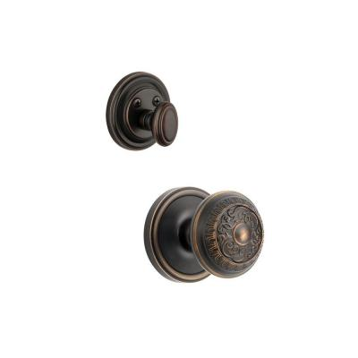 Georgetown Single Cylinder Timeless Bronze Combo Pack Keyed Alike with Windsor