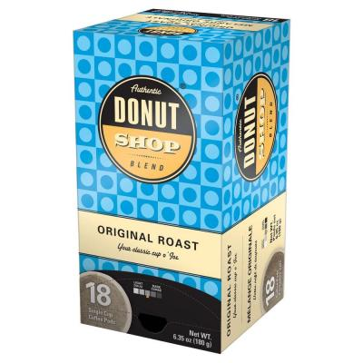 Reunion Island Authentic Donut Shop Original Blend Single Cup Coffee Pods, 18-count-DISCONTINUED