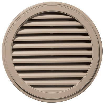 36 in. Round Gable Vent #023 Wicker Product Photo