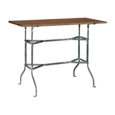Home Decorators Collection 30 in. H Vintage Park Grey and Painted Console Table - DISCONTINUED