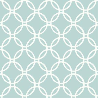 30.75 sq. ft. Blue Links Peel and Stick Wallpaper Product Photo