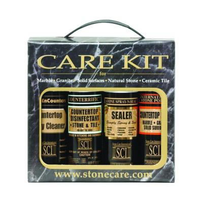 8 oz. 4-Bottle Countertop Care Kit Product Photo
