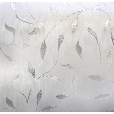Artscape 24 in. x 36 in. Etched Leaf Decorative Window Film