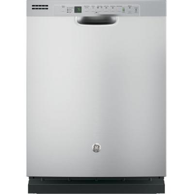 Front Control Dishwasher in Stainless Steel with Steam Cleaning