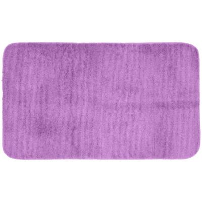 Garland rug glamor purple 30 in x 50 in washable for Rugs with purple accents