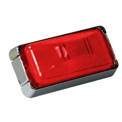 Clearance 2-7/8 in. Mini Rectangular Lamp Red