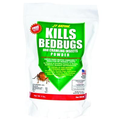4 lbs. Bedbug and Crawling Insect Powder with Diatomaceous Earth
