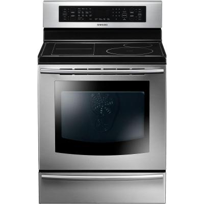 Samsung 5 9 Cu Ft Induction Range With Self Cleaning: samsung induction range