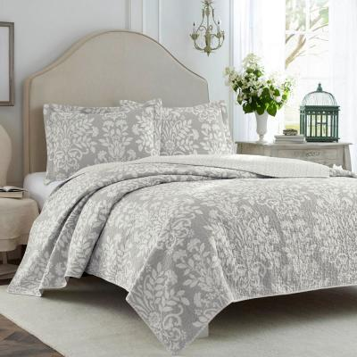Rowland Floral Cotton Quilt Set