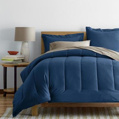 Wrinkle-Free 300-Thread Count Cotton Sateen Comforter