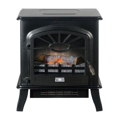 Quality Craft 18 in. Freestanding Electric Stove in Matte Black-DISCONTINUED
