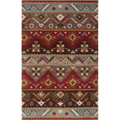 Artistic Weavers Dillon Rust 9 ft. x 12 ft. Area Rug