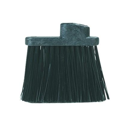 8 in. Heavy-Duty Angle Broom with 12 in. Flare Black Bristles
