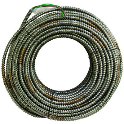 4/1 x 250 ft. Bare Armored Ground Cable