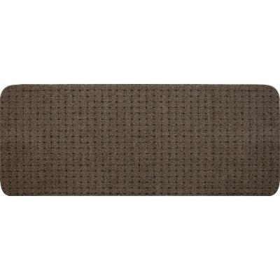 Pindot Toffee 9 in. x 24 in. Stair Tread