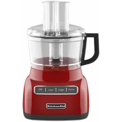 ExactSlice System 7-Cup Food Processor in Empire Red