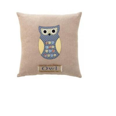 Owl 18 in. Square Decorative Pillow