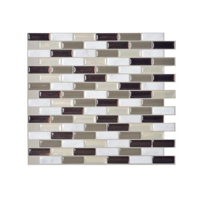 Smart Tiles Murano Stone 10 2 In W X 9 10 In H Peel And Stick Decorative Mosaic Wall Tile Backsplash 12 Pack Sm1054 12 The Home Depot