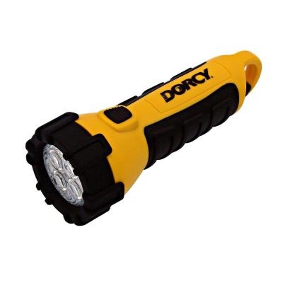 Dorcy 55 Lumen 3 AA 4 LED Carabineer Flashlight with Battery