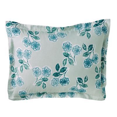 Ashby Linen Floral/Stripe Reversible Sham