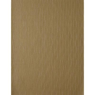 56 sq. ft. Decorative Finishes Vertical Waves Wallpaper Product Photo
