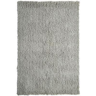 Lanart Palazzo Shag Silver 9 ft. x 12 ft. Area Rug