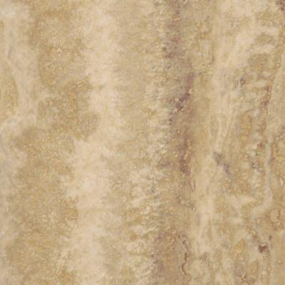 Allure Ivory Travertine Resilient Vinyl Tile Flooring - 4 in. x 4 in. Take Home Sample Product Photo